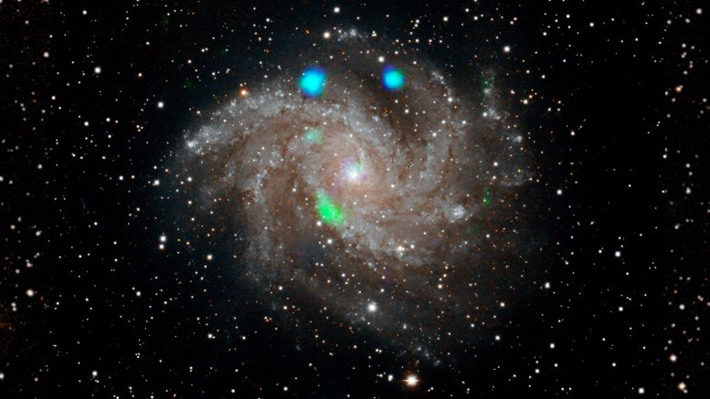 Digital Sky Survey Fireworks Galaxy NGC 6946