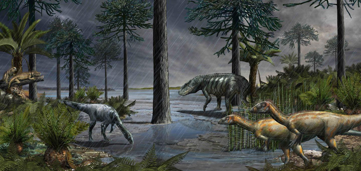 Dawn of the Dinosaurs Triggered by Newly Discovered Mass Extinction Event