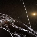 Discovery Shows Asteroid Chariklo Surrounded by Two Dense and Narrow Rings