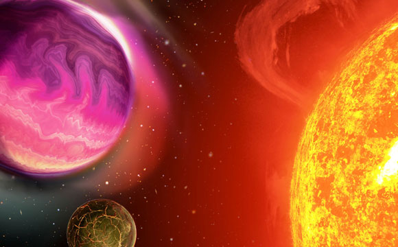 Discovery of First Binary-Binar Puts Solar System Formation Into Question