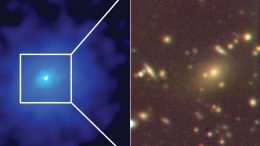 Discovery of Massive Nearby Cluster Around PKS1353 341