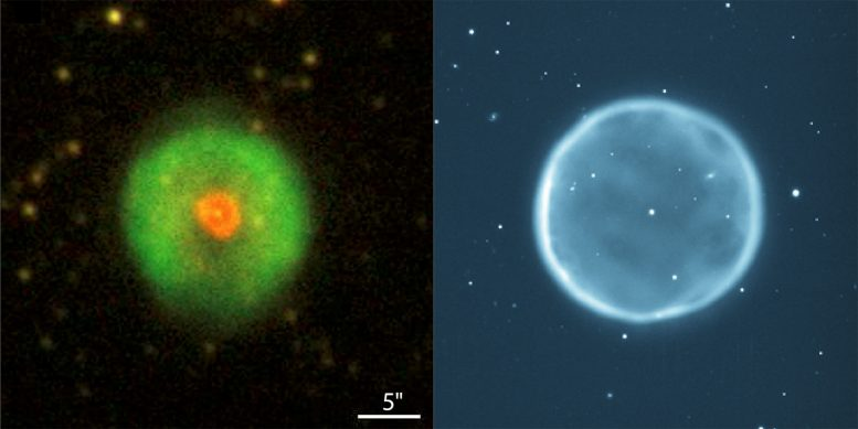 Discovery of a Structurally 'Inside Out' Planetary Nebula