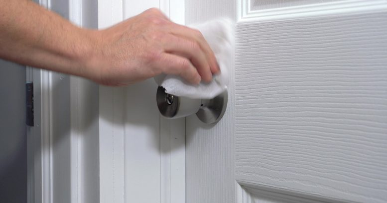 Disinfecting Doorknob