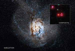 Distant Galaxy Churning Out Stars at Remarkable Rate
