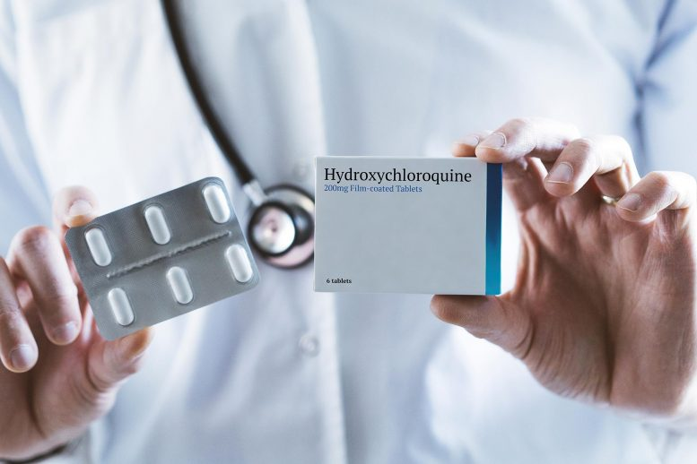Doctor Holding Hydroxychloroquine