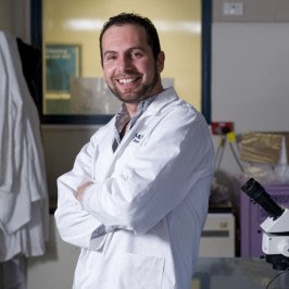 Dr Damian Dowling of Monash University's School of Biological Sciences