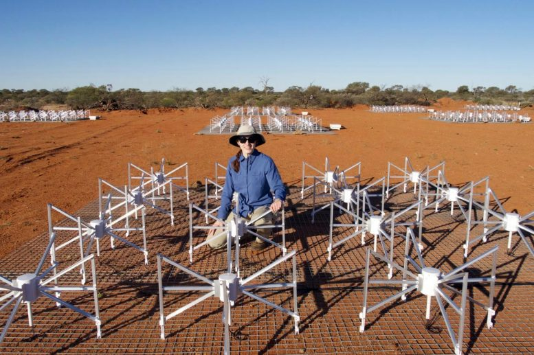 Dr Nichole Barry at The Murchison Widefield Array