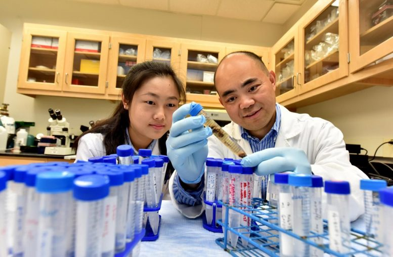 Dr. Yaoling Tang and Postdoctoral Fellow Dr. Xuan Su