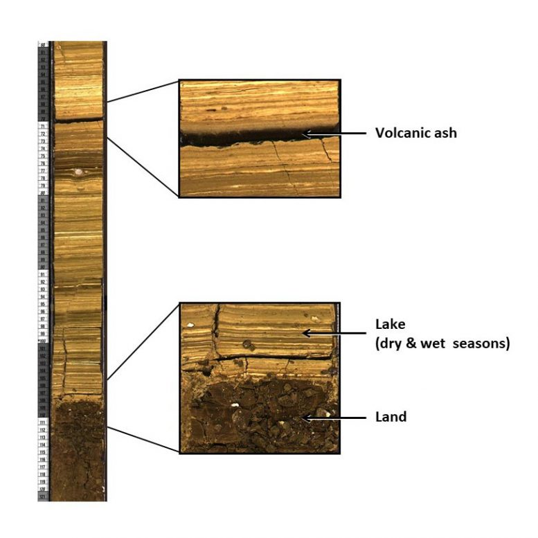 Drill Core From Koora Basin