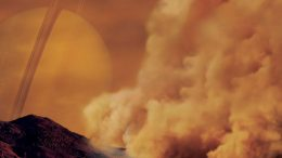 Dust Storms on Titan Spotted