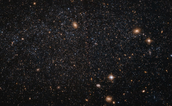 Hubble Image of Dwarf Galaxy Leo A