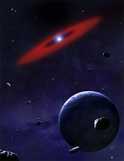 Dwarf Star 200 Light-Years Away Contains Life's Building Blocks