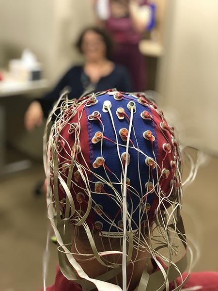 EEG Cap With Electrodes