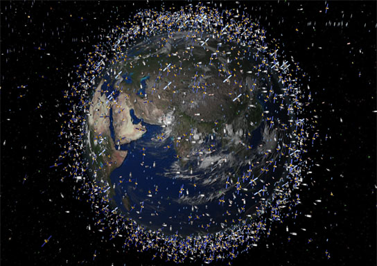 ESA's Clean Space targets orbital debris