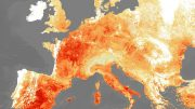 ESA 2019 Heatwaves Satellite Image