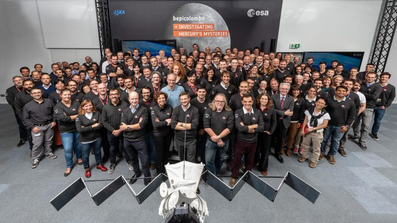 ESA Control Center Mission Teams