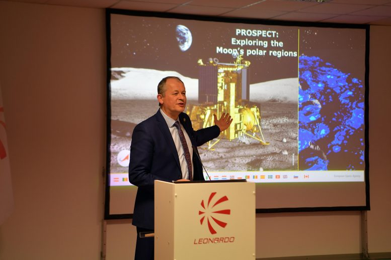 ESA Director of Human and Robotic Exploration David Parker