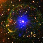 ESA Views Pulsar Encased in Supernova Bubble