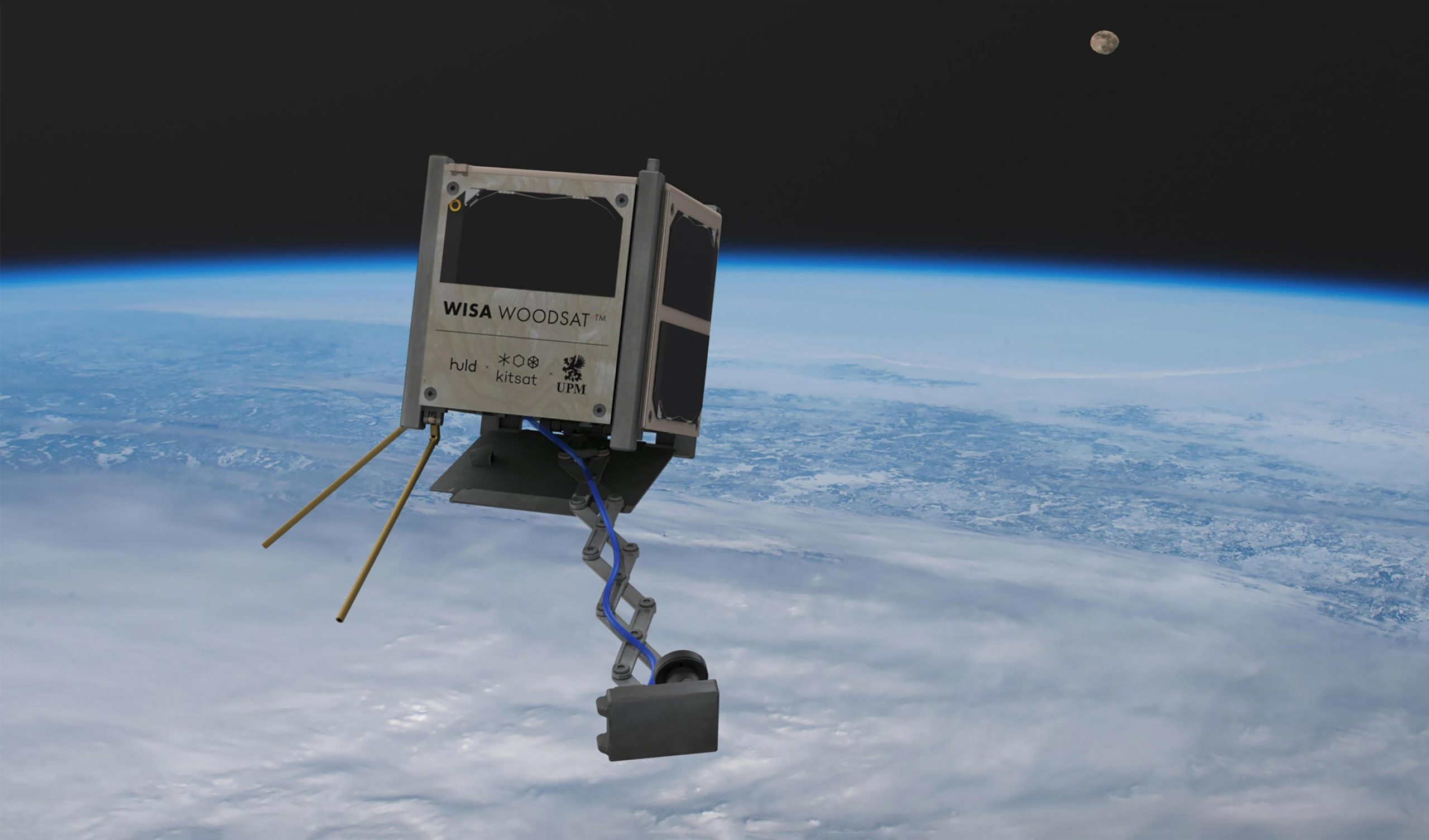 World's First Wooden Satellite Set To Launch – Can Plywood Survive in Space?