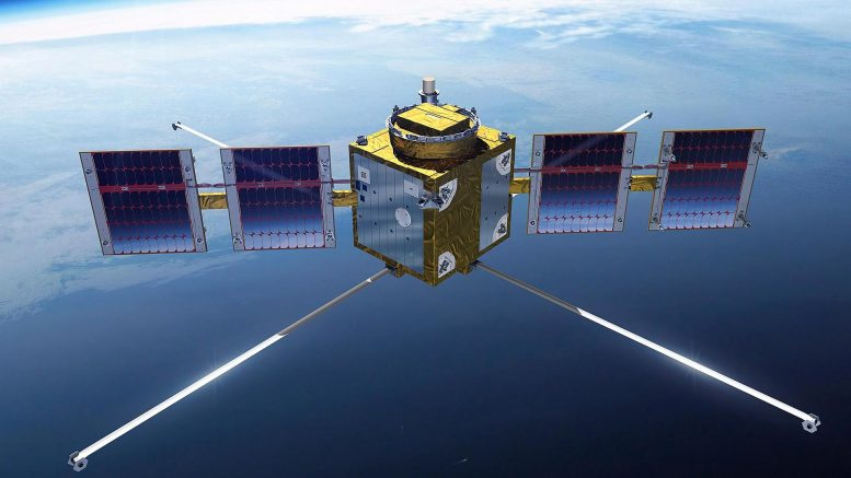 ESAIL Microsatellite in Orbit