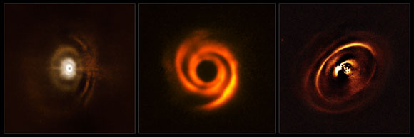 ESO Reveals Protoplanetary Discs Being Shaped by Newborn Planets
