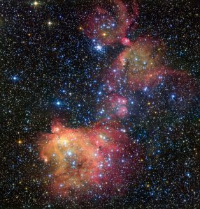 ESO Views Colorful Emission Nebula LHA 120-N55