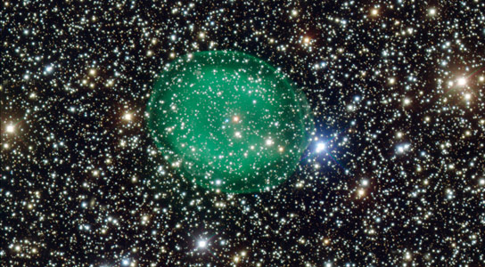 ESO Views Planetary Nebula IC 1295