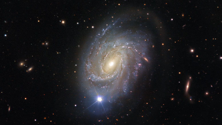 ESO Views Spiral Galaxy NGC 4981