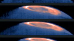 ESO Views a Great Cold Spot Discovered on Jupiter