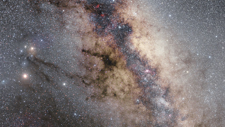 ESO Views the Center of the Milky Way