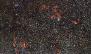 ESO Views the Sky Around the Star Formation Region RCW 106