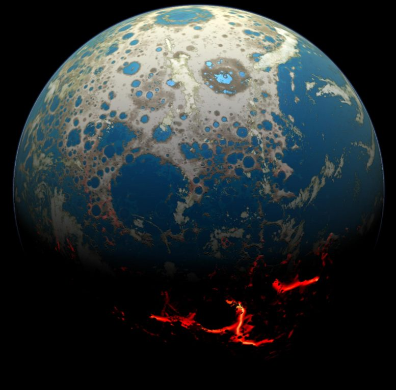 Early Earth Artist's Conception