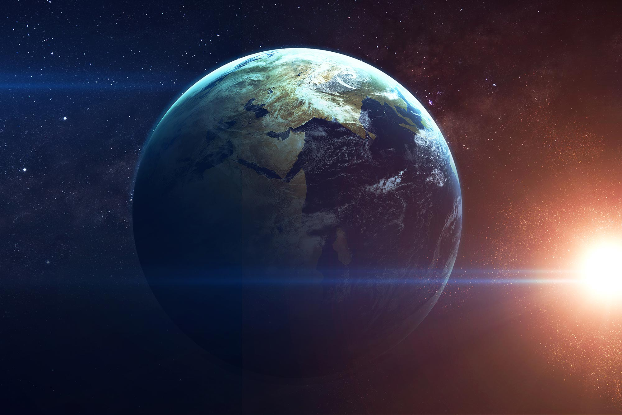 Iron Isotopes Show That Planet Earth Formed Much Faster Than Scientists Thought