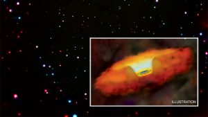 Early Supermassive Black Holes May Have Grown in Fits and Spurts