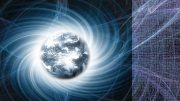 Earth Magnetic Field Illustration