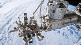 Earth-Observing Payloads Attached to the Japanese Experiment Module