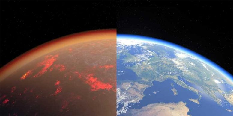 Earth Today and Past