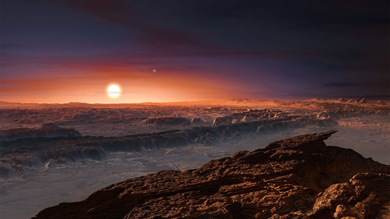 Earth-like Atmosphere May Not Exist on Proxima b's