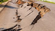 Earthquake Cracks