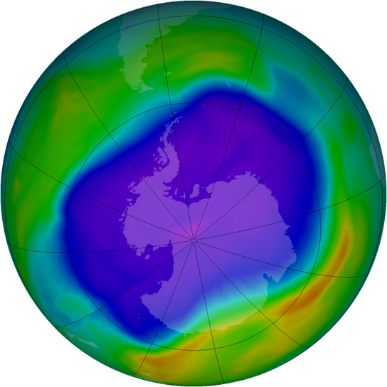 Earth's Atmosphere Contains an Unexpectedly Large Amount of Ozone-Depleting Compound