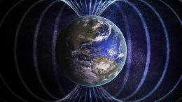 Earth's Magnetic Field Illustration