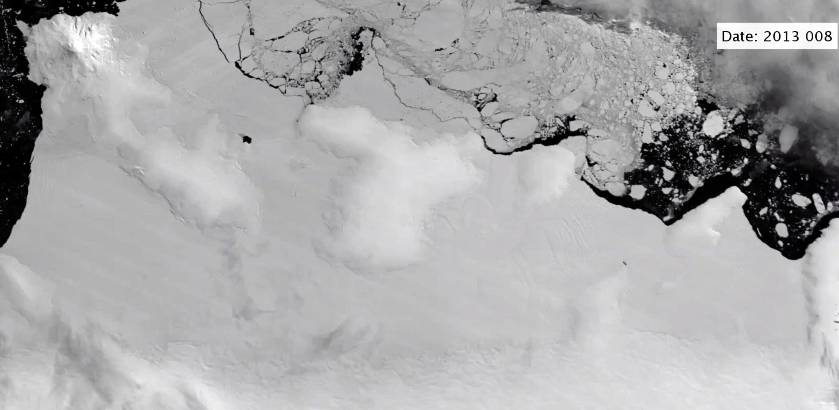 """Upside-Down """"Rivers"""" of Warm Ocean Water Attacking Antarctic Ice Shelves [Video] - SciTechDaily thumbnail"""