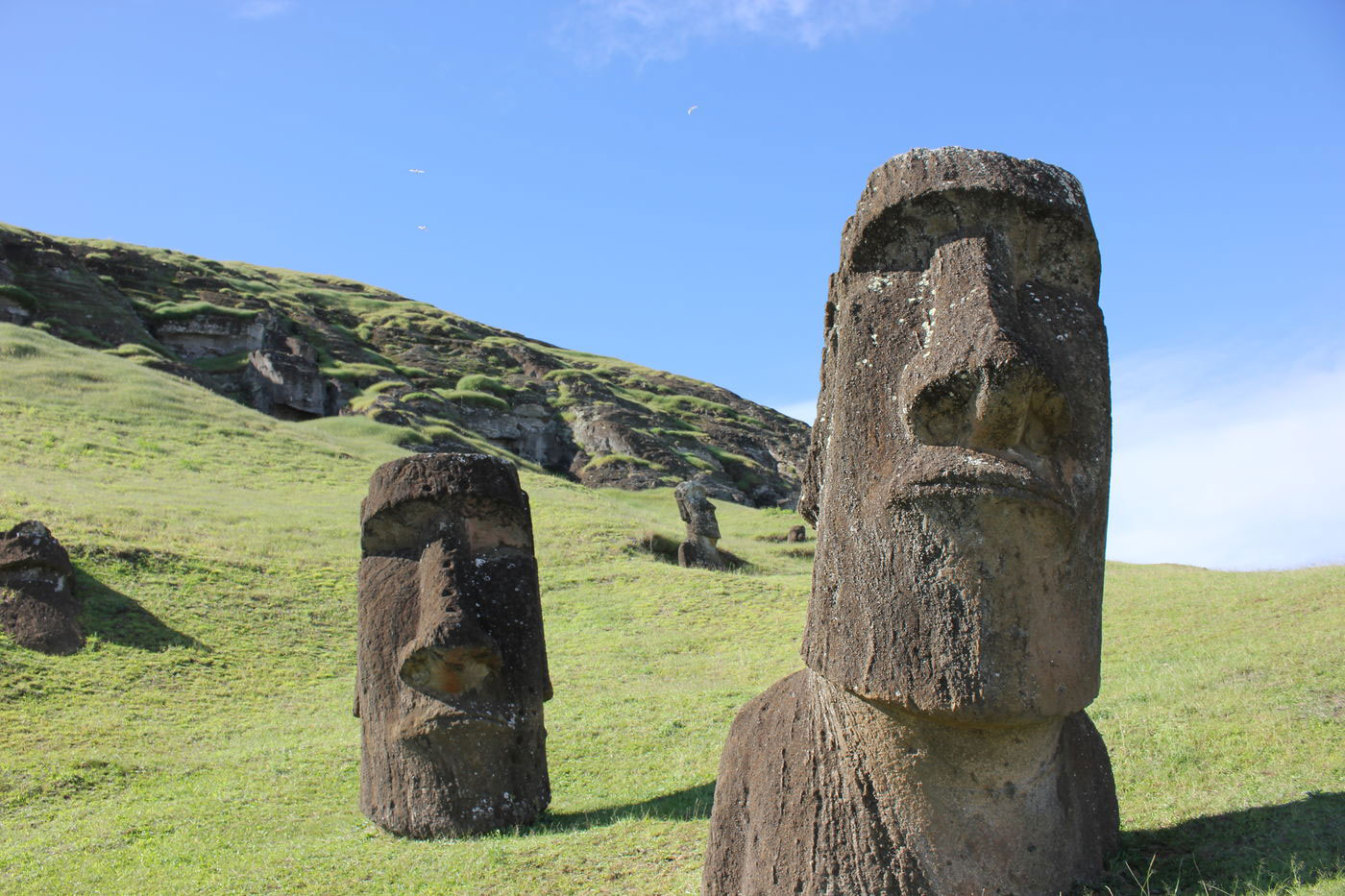 Easter Island Heads In Space