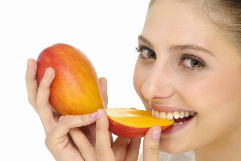 Eating Mango