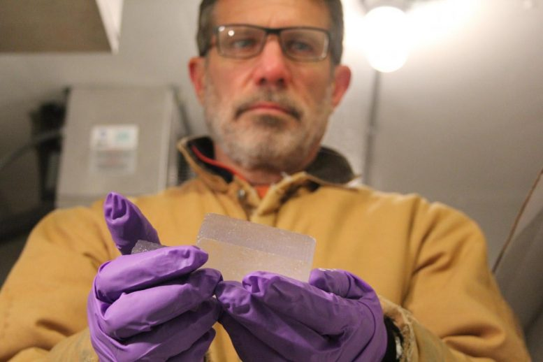 Ed Brook With 2 Million-Year-Old Ice