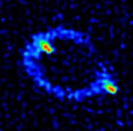 Einstein Ring Radio Image