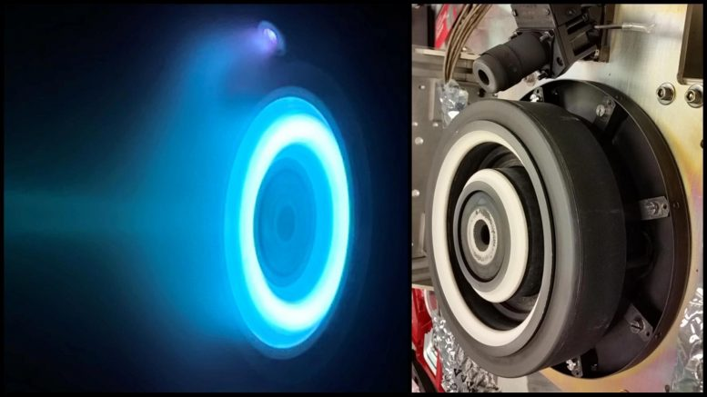 Electric Hall Thruster NASA Psyche Spacecraft