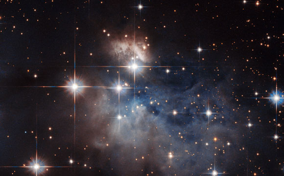 Hubble Views Emission-Line Star IRAS 12196-6300