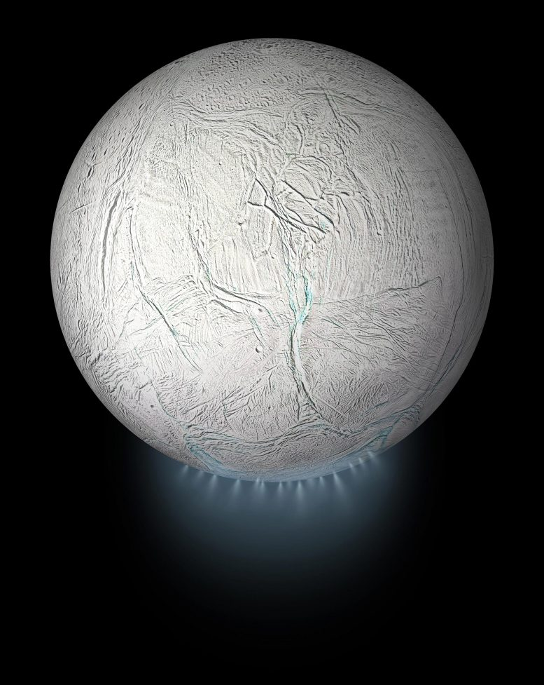 Enceladus Global View με δαμάσκηνο