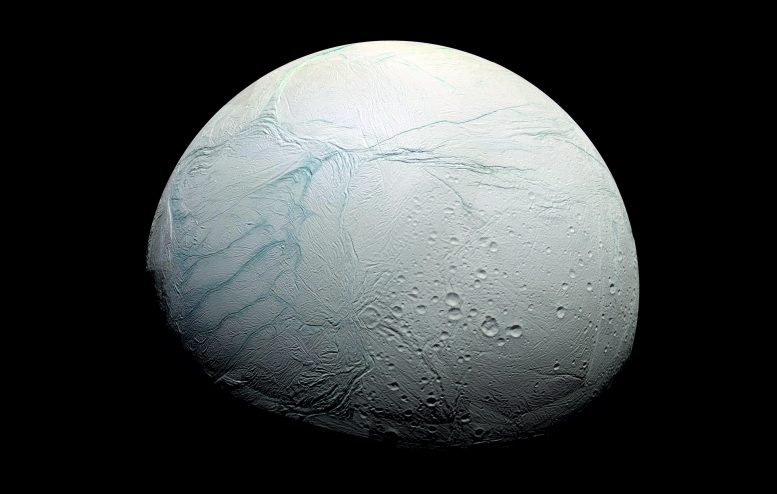 Enceladus Tiger Stripes